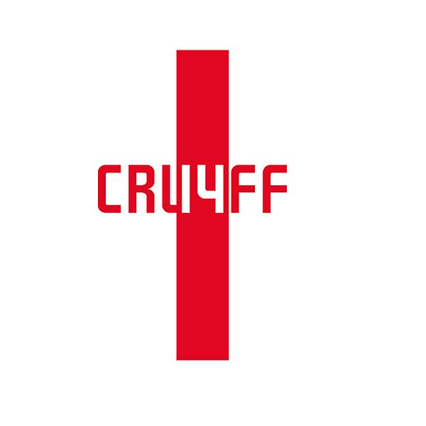 Johan Cruyff trbute logo concept