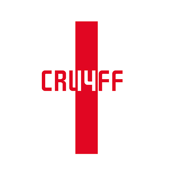 Johan Cruyff tribute logo concept