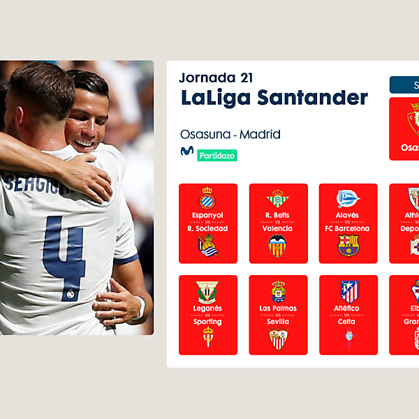 LaLiga Santander Matchday PSD