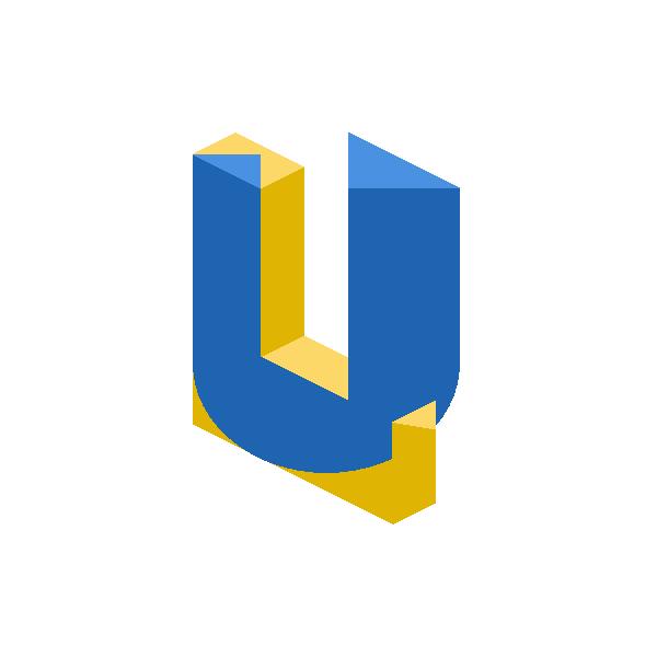 Leeds United 3 D alternative logo concept .