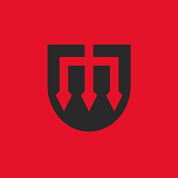 Manchester United logo concept