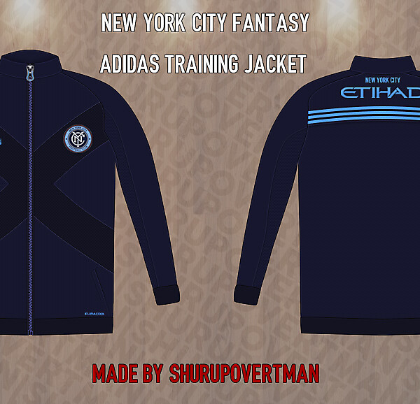 New York City Fantasy Adidas Training Jacket