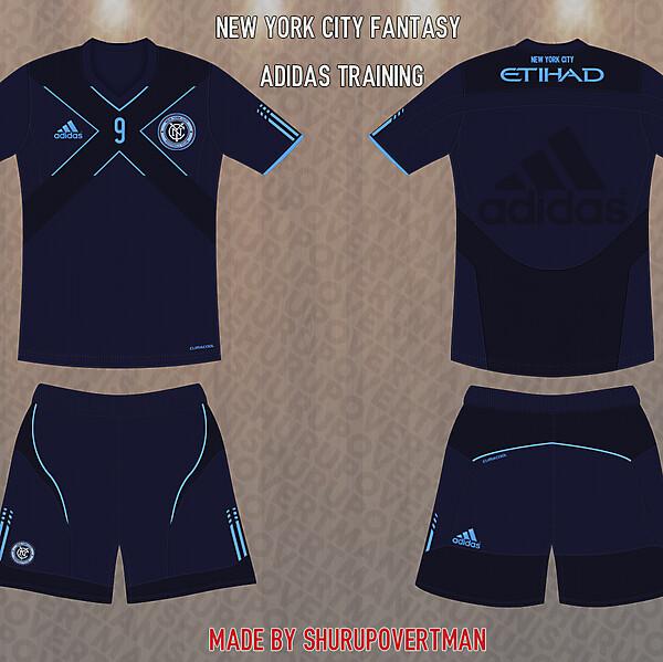 New York City Fantasy Adidas Training Kit