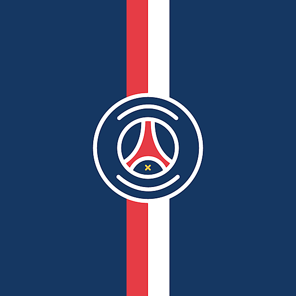 Paris Saint-Germain Minimalist