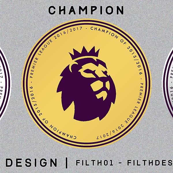 Patch Design of New Premier League Logo