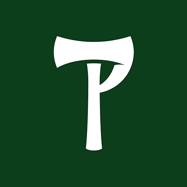 Portland Timbers alternative logo, update on the current logo.