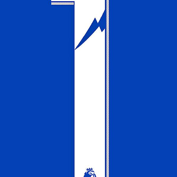Premier League Typface Number Concept