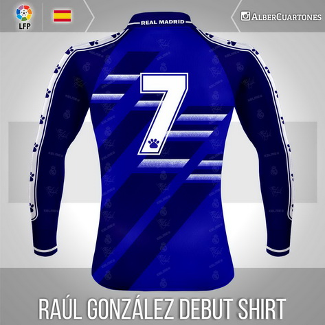 Raúl González Debut Shirt  (Nov - 29 - 1994)