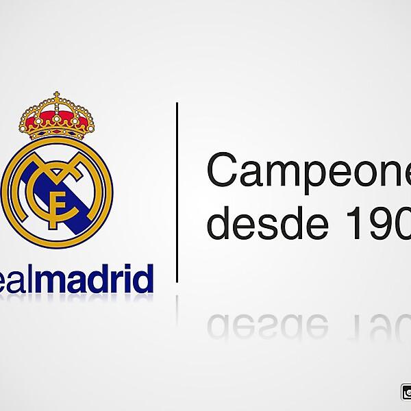 Real Madrid 112th anniversary design
