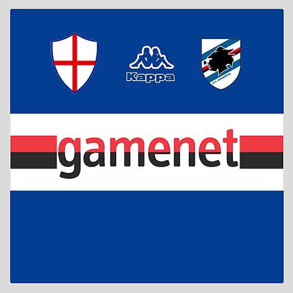 Sampdoria Sponsor Concept (Feedback would be nice)