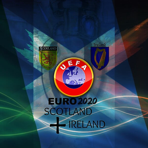 Scotland Ireland 2020 Euro (Possible Bid) Fanmade Logo