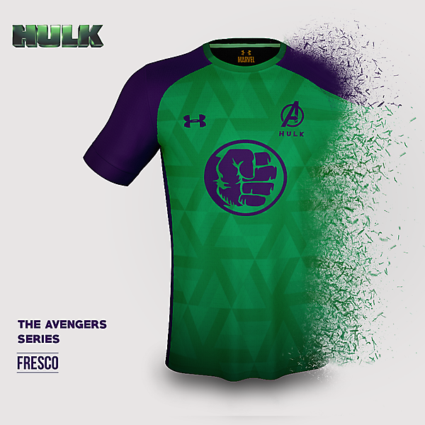 The Hulk x Under Armour Concept Kit