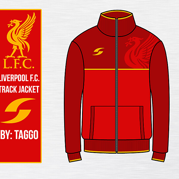 Liverpool Red Track Jacket