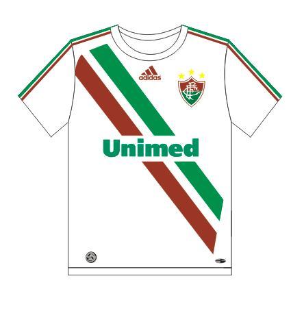 New t-shirts of Fluminense Football Club, Rio de Janeiro, Brazil