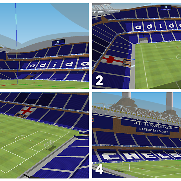 Battersea Stadium - Chelsea FC