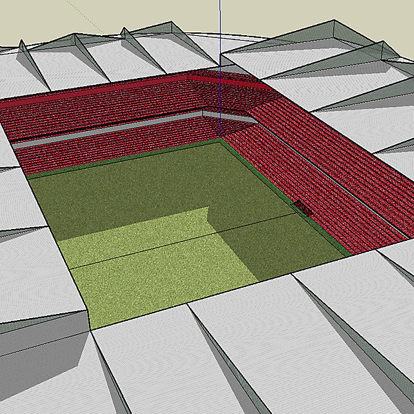 Football Stadium Design 1