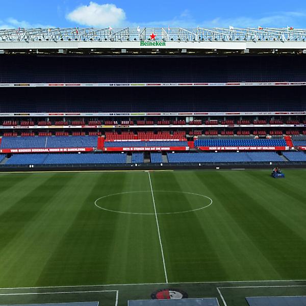 The new Kuip stadium