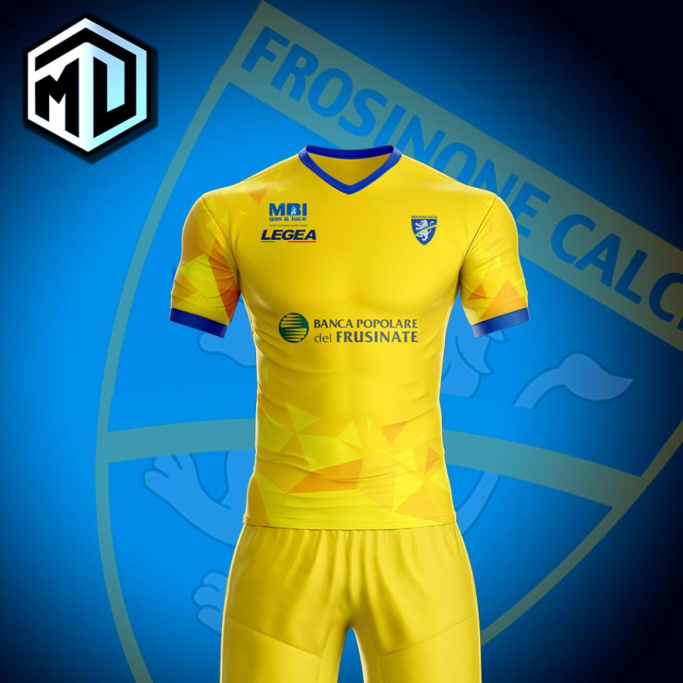 Frosinone Calcio restyle concept whit Legea