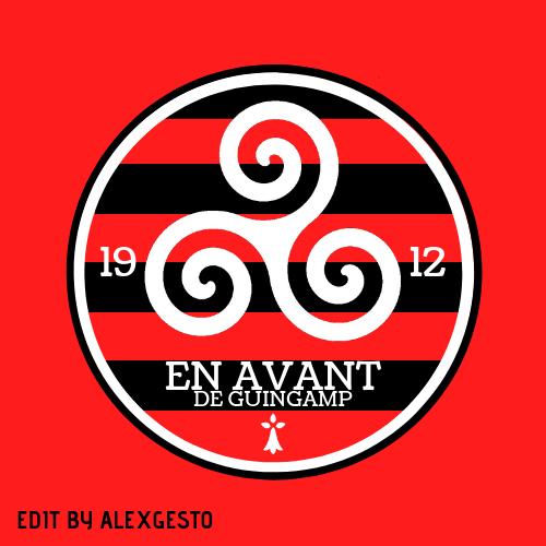 EA Guingamp logo design