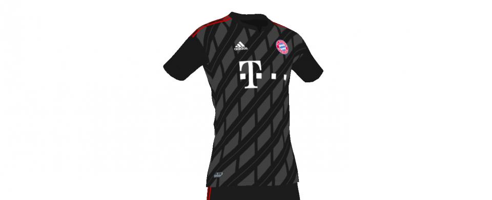 Bayern away concept kit
