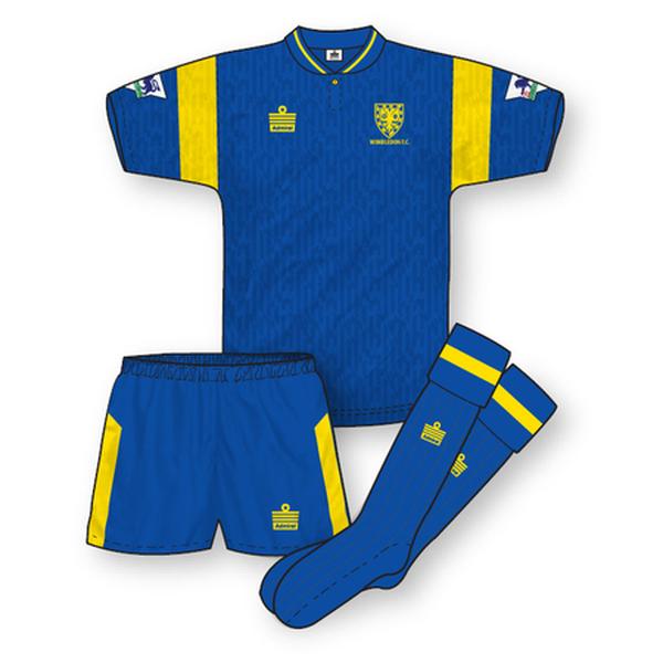 Wimbledon 1992-93 Home Kit
