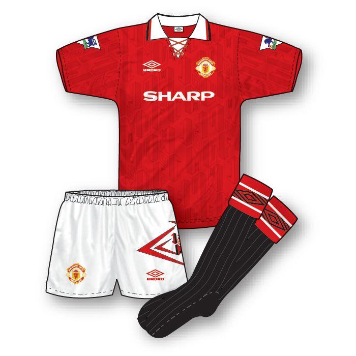 Manchester United 1992-93 Home Kit