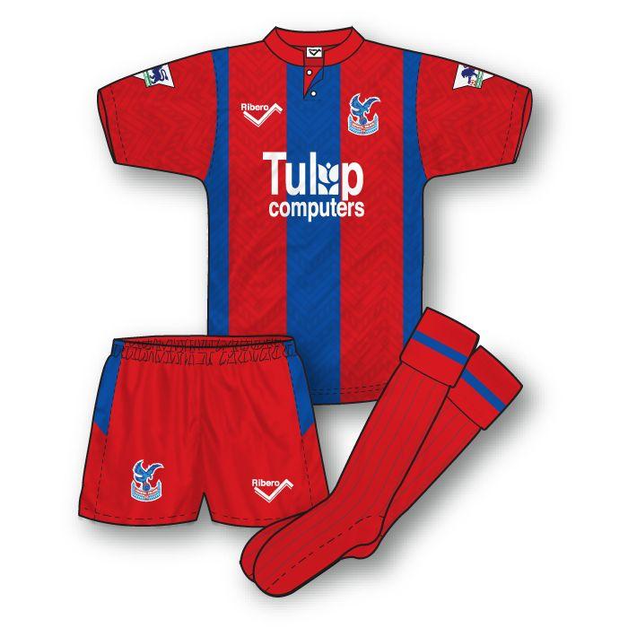 Crystal Palace 1992-93 Home Kit
