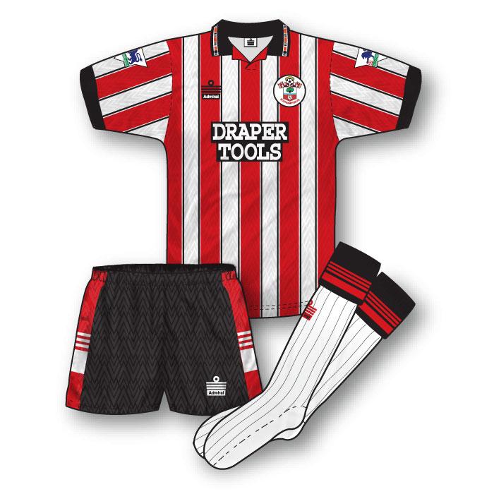 Southampton 1992-93 Home Kit